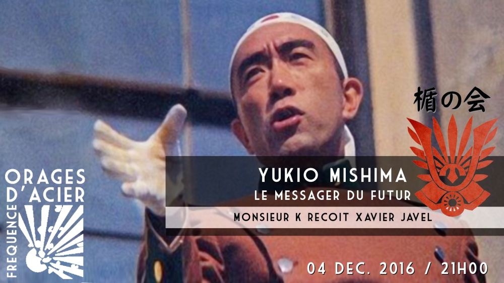 yukio mishima,orage d'acier